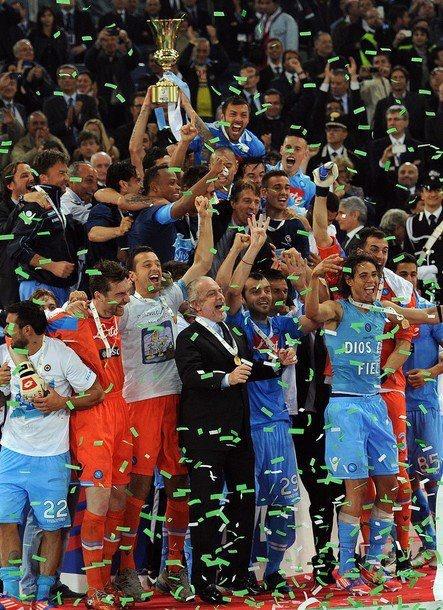 Il team azzurro