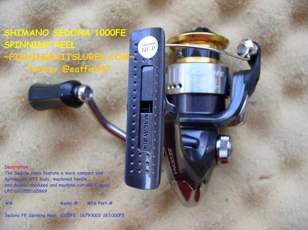 SHIMANO SEDONA 1000FE SPINNING REEL NO PACKAGING http://fishingbaitslures.com/products/shimano-sedona-1000fe-spinning-reel