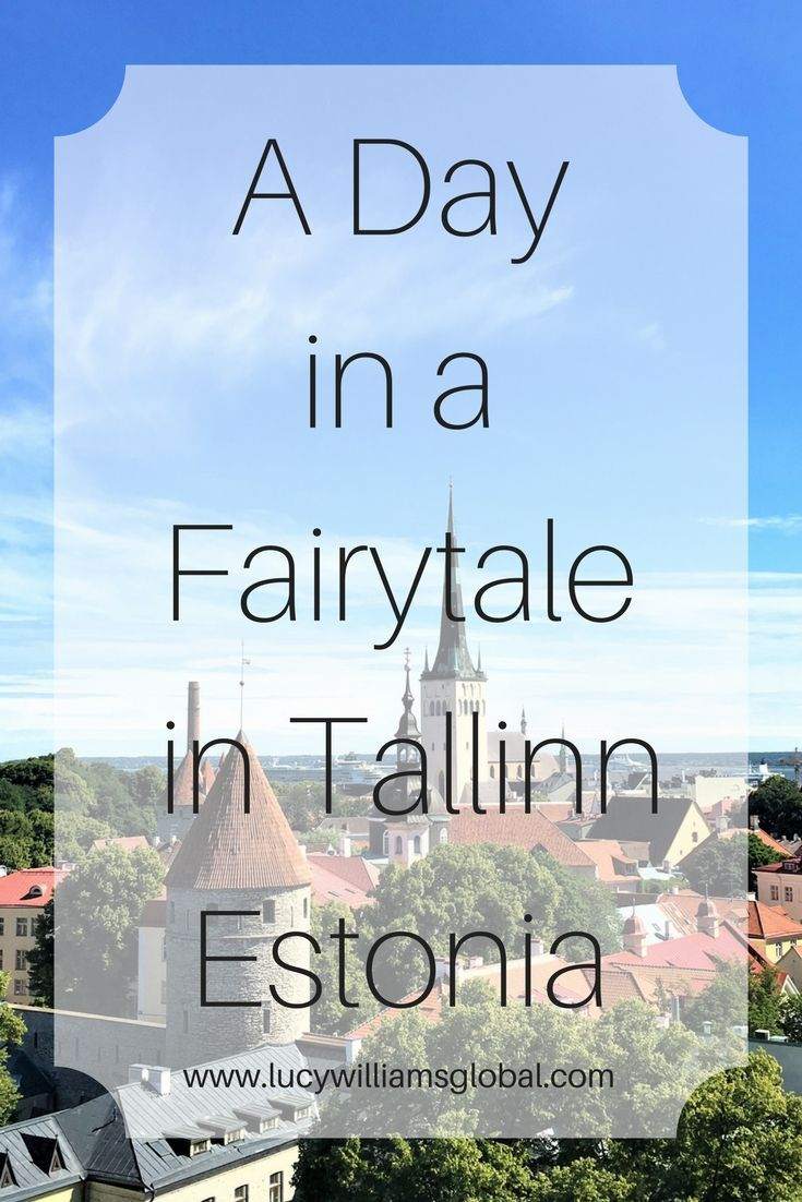 A Day in a Fairytale in Tallinn Estonia - When I visited Tallinn in Estonia I thought I had stepped into a fairytale or the set of Frozen or Shek! We stopped in Tallinn on the cruise of the Baltic region in Northern Europe. I had one day there and it was my first time and I could not believe how beautiful it was.