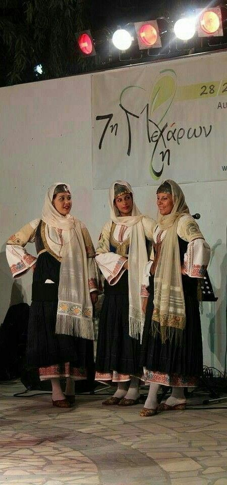 Traditional Greek costume of Megara