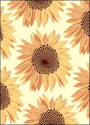 Fall Sunflowers Wallpaper Vintage Sunflowers Stencils Stensils And Stencles Art