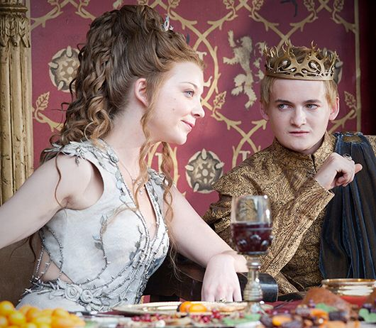Margaery And Joffrey Purple Wedding