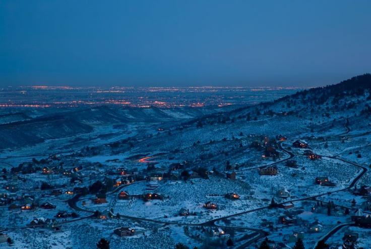 ❥ Fort Collins, ColoradoColors Colorado, Forts Collins, Favorite Things, Favorite Places, Snowy Night, Colorado Beautiful, Fort Collins Colorado, Colorado Dreams, Colorado Mi