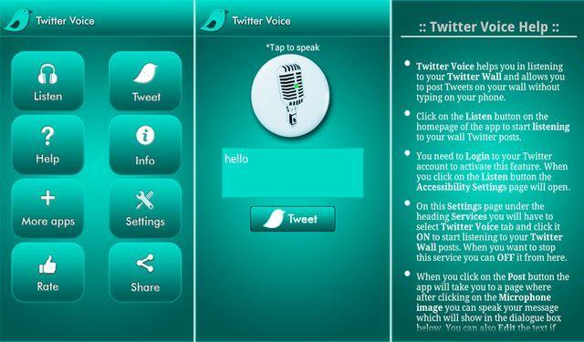 Twitter Voice Notifications, app Android que te lee notificaciones de Twitter