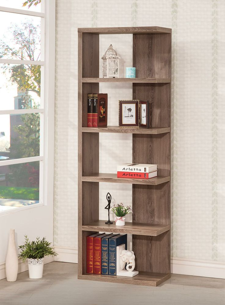 """Backless Bookcase 70.75""""H x 23.75""""W x 11.5""""D $99.95 www.affordableportables.net"""