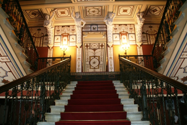 "Inside the Achilleion Palace.  Was seen in ""Casino Royale"" a James Bond movie"