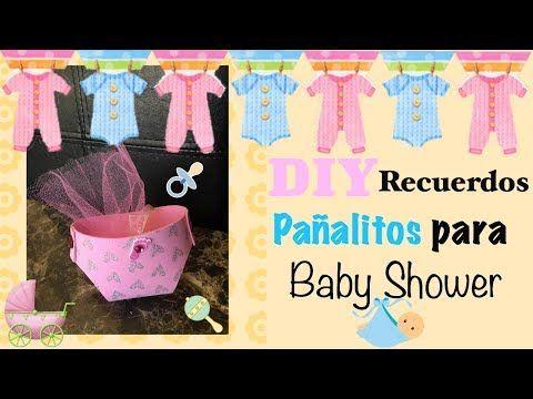 Chuladas Creativas :: Dulceros para Baby Shower :: Ideas Baby :: Sammily - YouTube