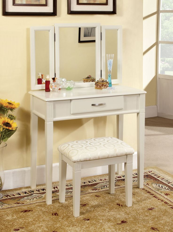A.M.B. Furniture & Design :: Bedroom Furniture :: Vanity Sets :: 3 Pc