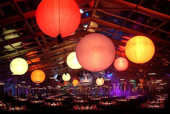 Helium Balloon Lights