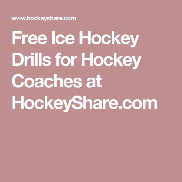 Free Ice Hockey Drills for Hockey Coaches at HockeyShare.com