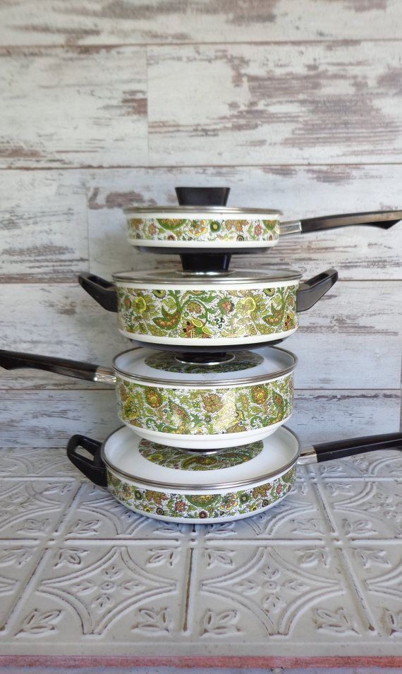 vintage capri cooking pots