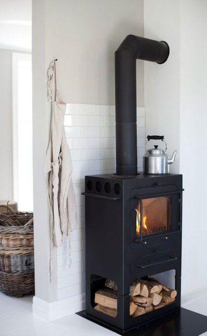 Super Wood Burning Stove Kitchen Brick Hearth 21+ Ideas