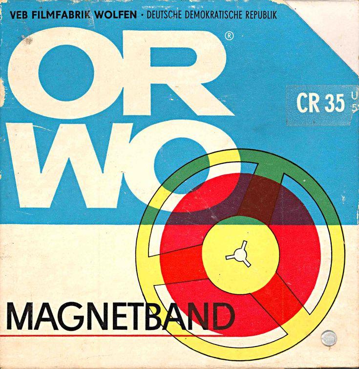 Tape - ORWO - East Germany.