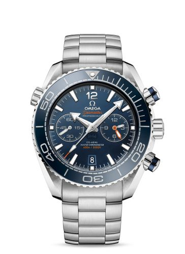 215.30.46.51.03.001 : Omega Seamaster Planet Ocean 600M Co-Axial Master Chronometer Chronograph Blue / Bracelet