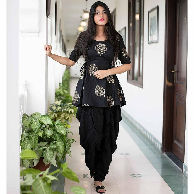 "2,307 Likes, 90 Comments - Bunaai By Pari Choudhary (@bunaai) on Instagram: ""Our all new Black Dhoti set • S H O P N O W • All sizes available [Size : XS, S, M, L ,XL, XXL,…"""