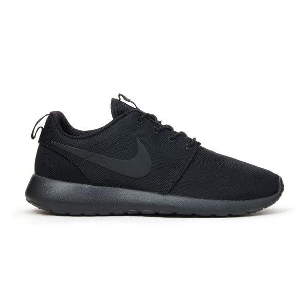 Roshe Run Triple Black by Nike