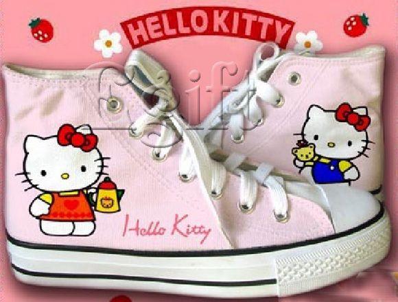 Hello Kitty Heels   cute hello kitty shoes - Hello Kitty Photo (19446409) - Fanpop ...