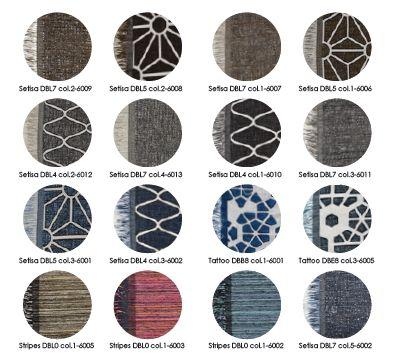 Kleren en Dessins van kleden Milek van B.I.C.-Carpets.