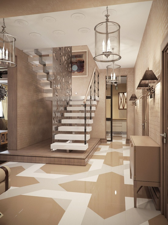 1000 images about hall y pasillo on pinterest hallways floors and entry ways - Interieur design maison ...