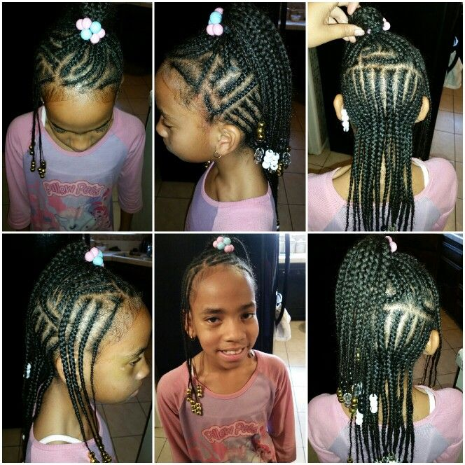 23 best my personal designs images on pinterest black girls my other favorite model is letting me put beads in her hair again thus makes her look oh so sweet braids for little black girls ccuart Gallery