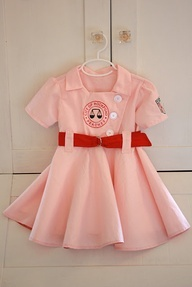 Rockford Peaches Costume. So cute for a little girl!  Theres no crying in baseball!!
