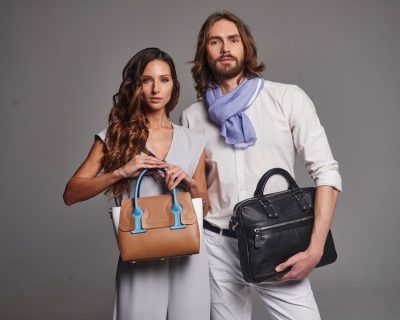 Nicoli leather purses outlet in Dueville, Vicenza