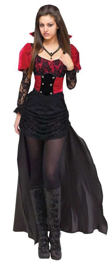 Sexy Vampire Costume for parties and Halloween.