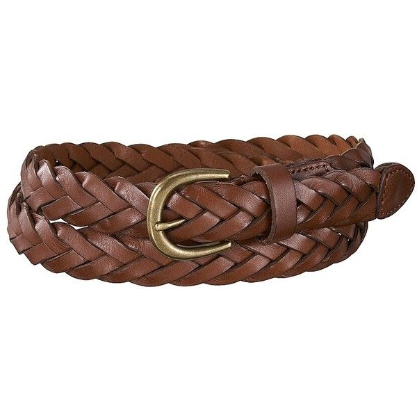 UNIQLO Vintage Mesh Leather Belt (6.525 HUF) ❤ liked on Polyvore featuring accessories, belts, 100 leather belt, uniqlo, thin leather belt, vintage belt and braided belt
