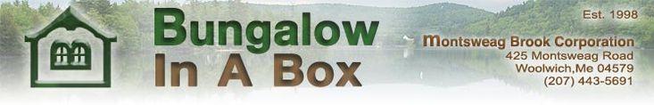 Bungalow in a Box Brigadoon Brigadoon: 16'x24' Ell Adorable cottage