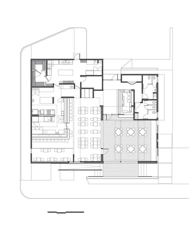 26 best interior floor plan images on pinterest floor - Small restaurant floor plan design ...