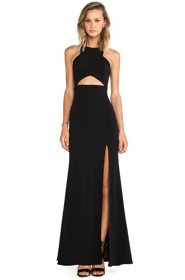 Jay Godfrey Gates Dress in Black #REVOLVEclothing