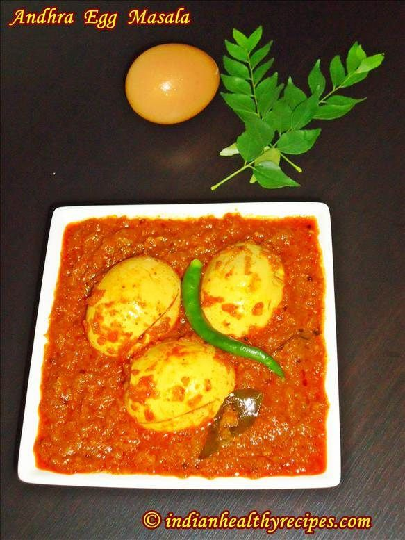 Spicy Andhra Egg Curry