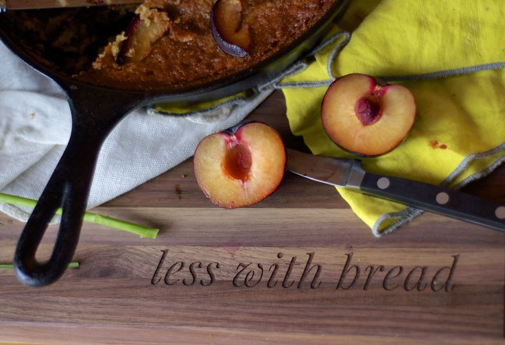brown butter plum cake up on the blog!