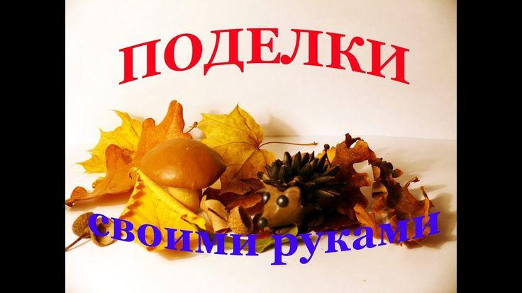Ежик. Поделки на тему осень своими руками из природных материалов. Diy