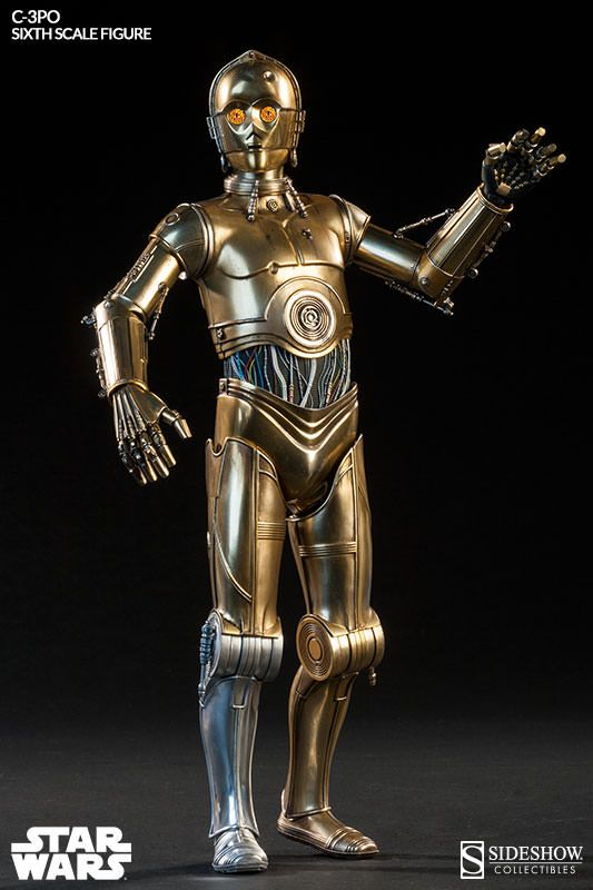 C-3PO Sixth Scale Figure / The Star Wars C-3PO Sixth Scale Figure will be available November 2015 but it can be pre-ordered now for $229.99 at Sideshow Collectibles.