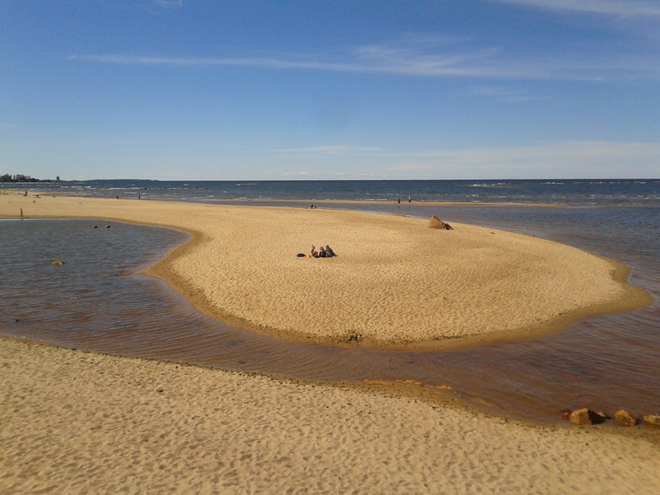 The sandy west coast of Finland, here the sand dunes of Kalajoki