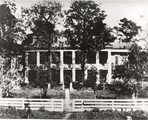 Beauregard House Built Around 1834 On The Chalmette Battlefield Where Battle Of New Orleans