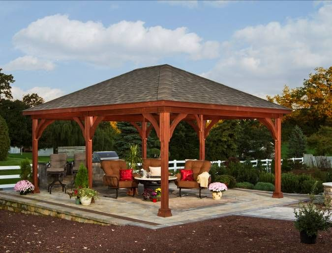 best 25 backyard pavilion ideas on pinterest backyard kitchen backyard bar and patio gazebo - Patio Pavilion Ideas