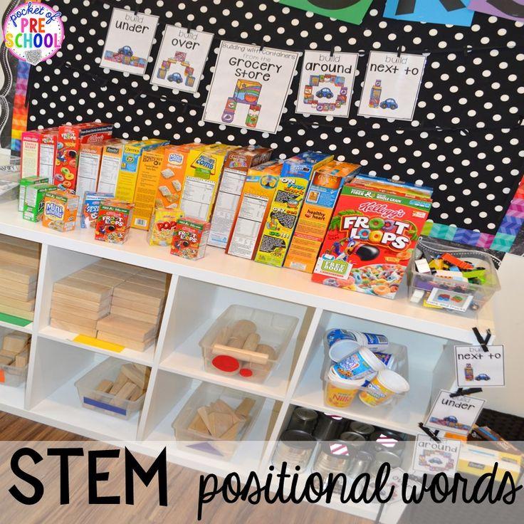 Stem School Little Rock: Best 25+ Block Center Preschool Ideas On Pinterest
