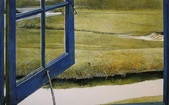 Love in the Afternoon, by Andrew Wyeth