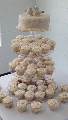 Bridal Cupcake Tower
