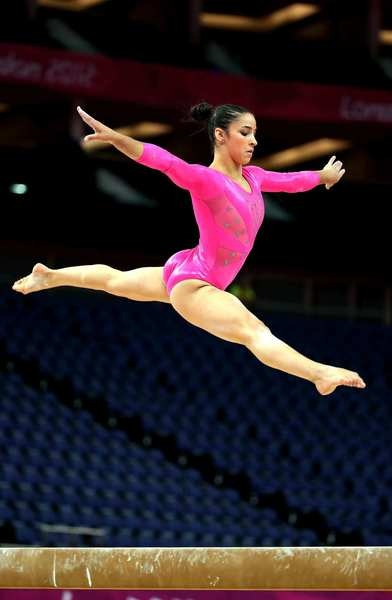 Alexandra Raisman, a bronze medalist on floor exercise at last year's world competition, is expected to finish in the top three at the London Olympics.