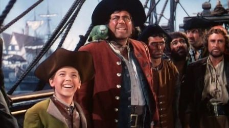 To date starred robert newton as captain long john silver amp bobby