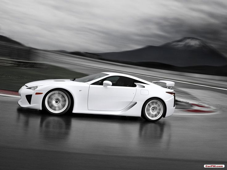 Lexus LFA - being the fastest, and being the best are two different things...
