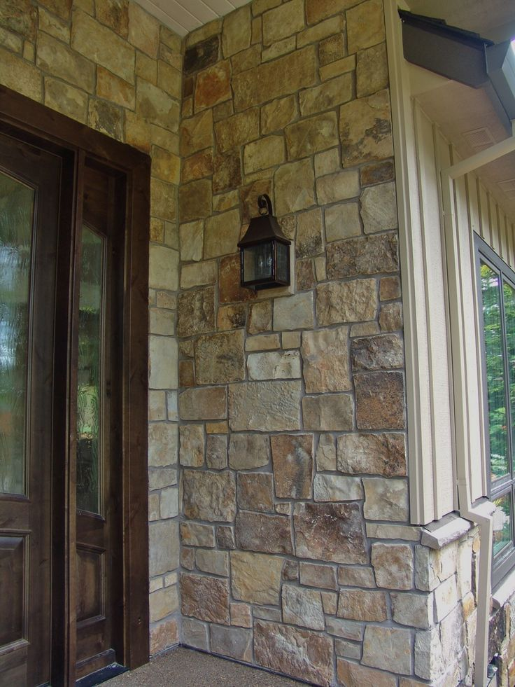 Natural Stone Veneers ǀ Faux Stone Siding ǀ Stone Veneer: 17 Best Images About BBM: Our Projects- Stone Veneer On