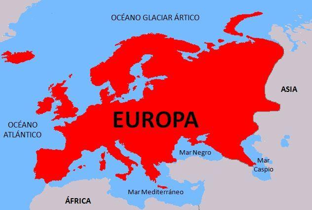 Image Result For Paises Europeos Mapa Continentes Mapa De Europa Europa
