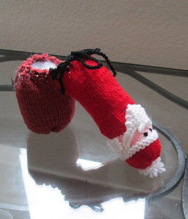 Willy Warmer Knitting Pattern : Ravelry: Seamless Willie Warmer pattern by RattleFox CROCHET IT!/KNIT IT! ...