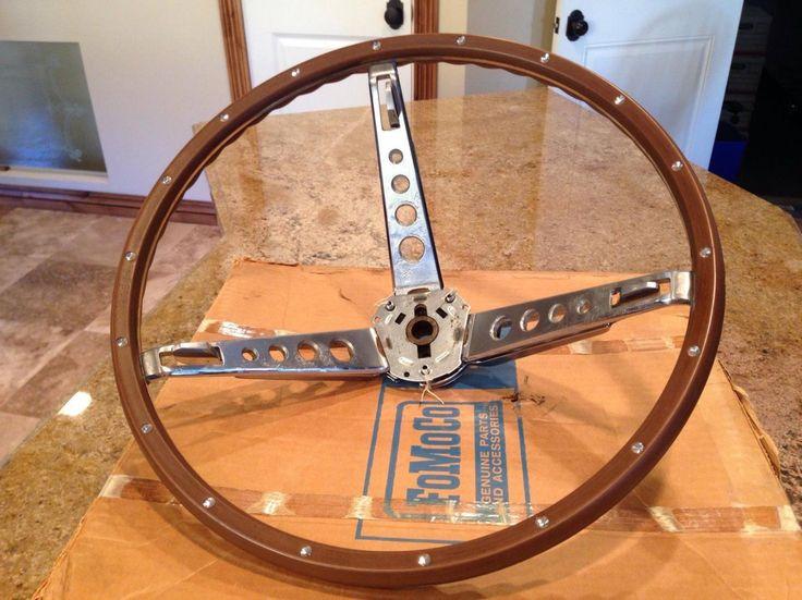 39 65 39 66 mustang wood grain steering wheel k code hi po. Black Bedroom Furniture Sets. Home Design Ideas