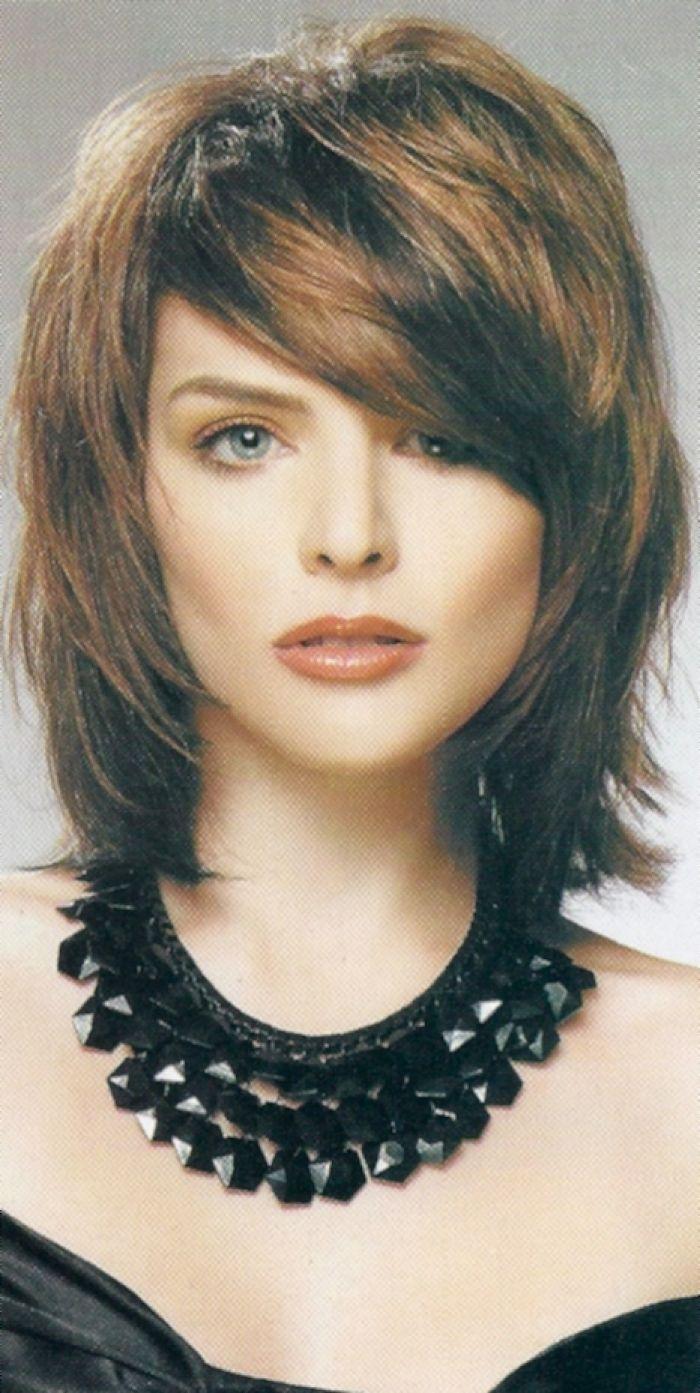 Terrific 1000 Ideas About Medium Shag Haircuts On Pinterest Medium Short Hairstyles Gunalazisus