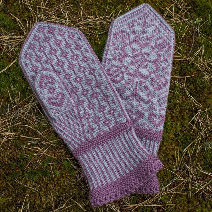 Beautiful Norwegian mittens